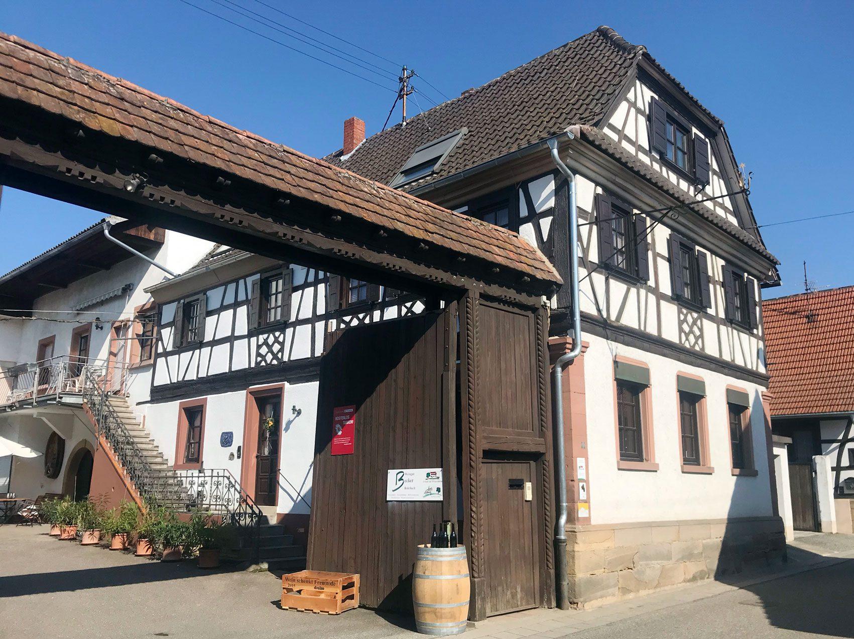 Weingut Becker in Rohrbach