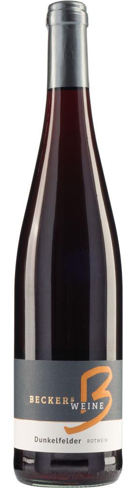 Dunkelfelder Rotwein
